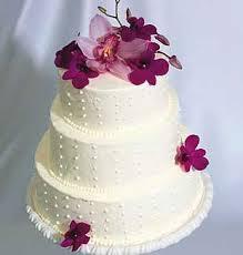 fresh flower wedding cakes