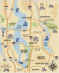 map of lake washington