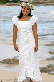 hawaiian wedding wear