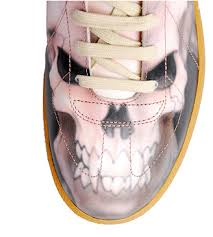 shoes with skull