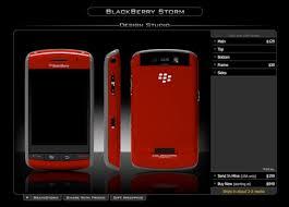 blackberry storm custom