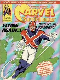 captain britain comic