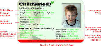 child id card
