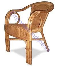 rattan arm chair