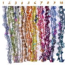 boucle knitting