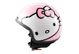 hello kitty bicycle helmet