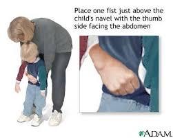 child choking