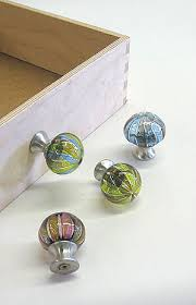 glass draw knobs
