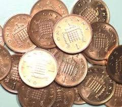 pennies coins