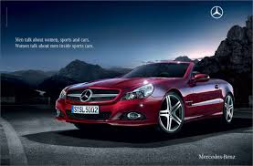 mercedes benz advertising