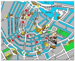 amsterdam center map