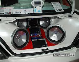 stereo system for car