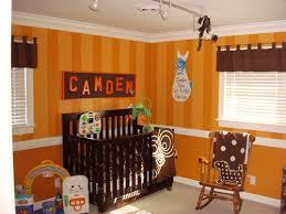 orange baby rooms