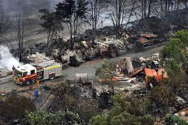 australian bushfire photos