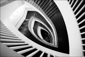 black and white contemporary art
