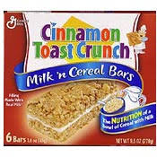 milk n cereal bars