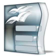 open office writer icon