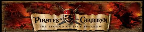 pirates of the caribbean banner
