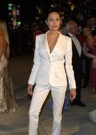 angelina jolie white suit