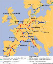 train lines europe