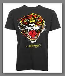 ed hardy tiger tshirt