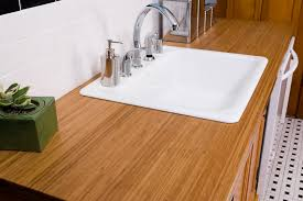 bamboo counter tops