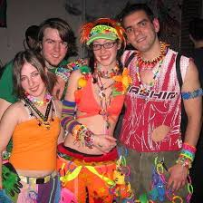 rave girl clothes