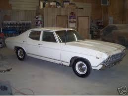 1969 chevelle 4 door