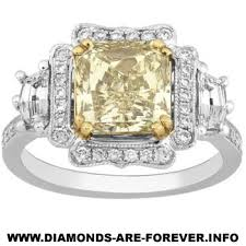 light yellow diamonds
