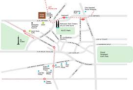 kl tower map