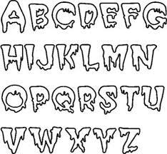 different font