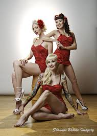 rockabilly pinups