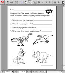 dinosaur cut outs