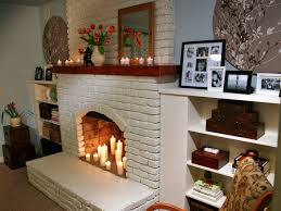 brick fireplace design