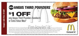 mcdonald coupon