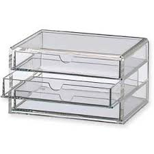 acrylic drawer