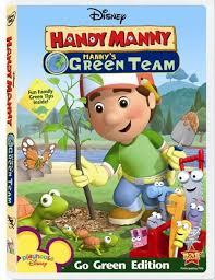 handy manny green team