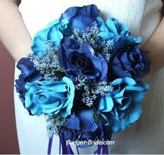 blue flowers for weddings