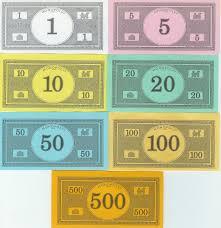 monopoly money print