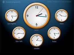 free clock screensaver