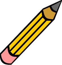 pencil cliparts
