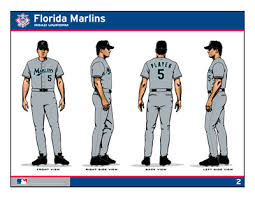 florida marlins uniforms