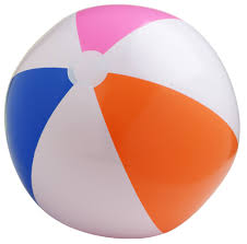 small beach ball
