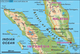 map of strait of malacca
