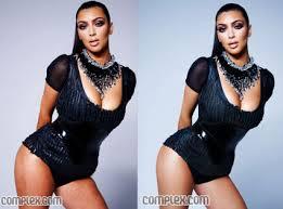 kim kardashian plus size