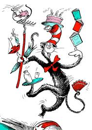 dr seuss cat in the hat pictures