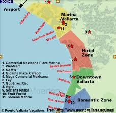 puerto vallarta hotel maps