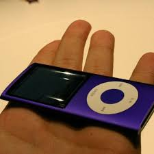 new ipod nano blue