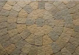 circular paving stones