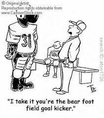 football kickers